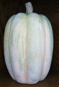 Harvest Goods Large Terra Cotta Pumpkin