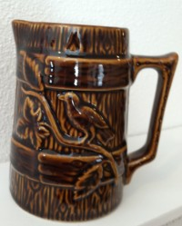 Harvest Goods Bird On A Branch Pitcher