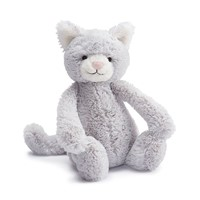 Jellycat Bashful Kitty Grey Large