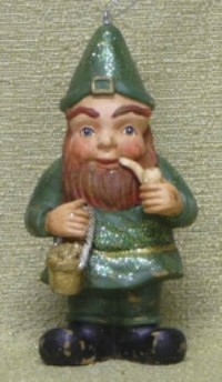 KD Vintage Leprechaun Ornament