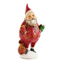 K&K Interiors Santa Holding Gifts & Bag