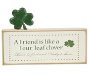 K&K Friend Clover St. Paddy Sign