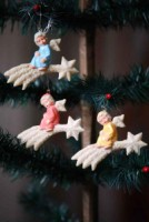 Angel Starburst Ornament Set