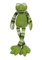 Maison Chic Musical Cuddle Knit Frog