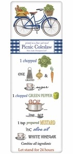 Mary Lake-Thompson Picnic Coleslaw Recipe Towel