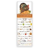 Mary Lake-Thompson Turkey Pumpkin Chili Recipe Towel