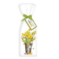 Mary Lake-Thompson Yellow Tulips Towel