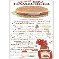Mary Lake Thompson Best BBQ Hamburger Recipe Towel