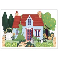 Mary Lake Thompson Cottage Rabbit Towel