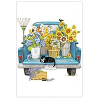 Mary Lake Thompson Flower Truck Towel