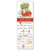 Mary Lake-Thompson Garden Bruschetta Recipe Towel