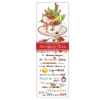 Mary Lake-Thompson Cranberry Cider Recipe Towel