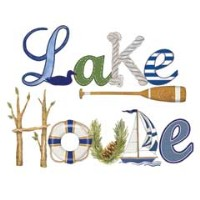 Mary Lake-Thompson Lake House Towel