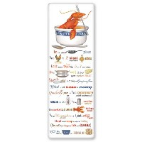 Mary Lake-Thompson Lobster Bisque Recipe Towel