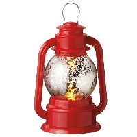 Midwest Lighted Red Lantern Ornament