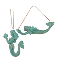 Midwest Mermaid Ornament Teal