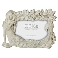 Midwest CBK Whitewash Mermaid Frame