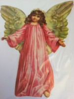Pink Angel Card