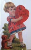 Girl With Heart Valentine