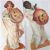 Boo Halloween Movable Greeting Card