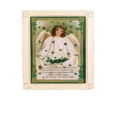 Small Framed Sheltering Angel