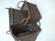 Park Hill Rectangle Willow Basket Set