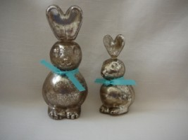 Mercury Glass Bunny