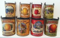Park Hill Vintage Fruit Cans