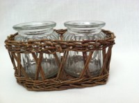 Park Hill Willow Double Jar Vase