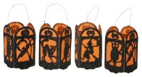 Halloween Mini Lantern Ornament Set