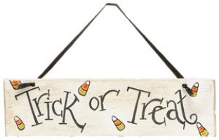 Small Trick-or-Treat Sign