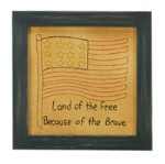 Land of The Free Stitchery