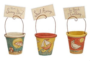 Sand Pail Photo/Card Holder