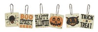 Retro Halloween Ornament/Tags