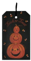 Trick Or Treat Tag Plaque