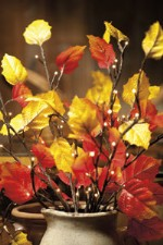 Fall Leaves Twig Lights