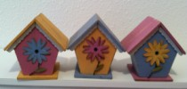 Mini Flower Birdhouse