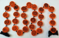 Felt Halloween Candy Garland
