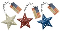 Patriotic Star Ornament Set