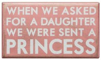 Princess Box Sign