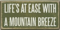 Mountain Breeze Box Sign
