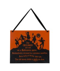 Halloween The Children Sign