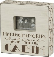 Cabin Memories Box Frame