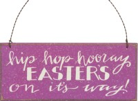 Hip Hop Hooray Easter Sign