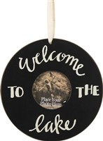 Welcome To The Lake Photo Frame