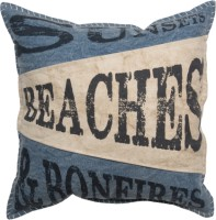 Beaches And Bonfires Pillow