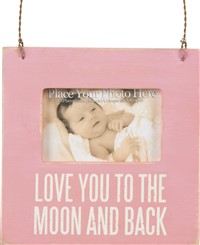 Moon And Back Mini Frame Pink