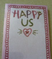 Happy Us List Notepad