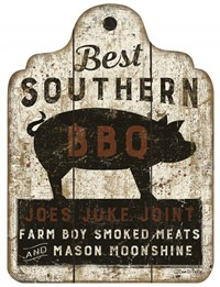 Southern BBQ Sign