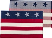 Stripes & Stars Dishtowel